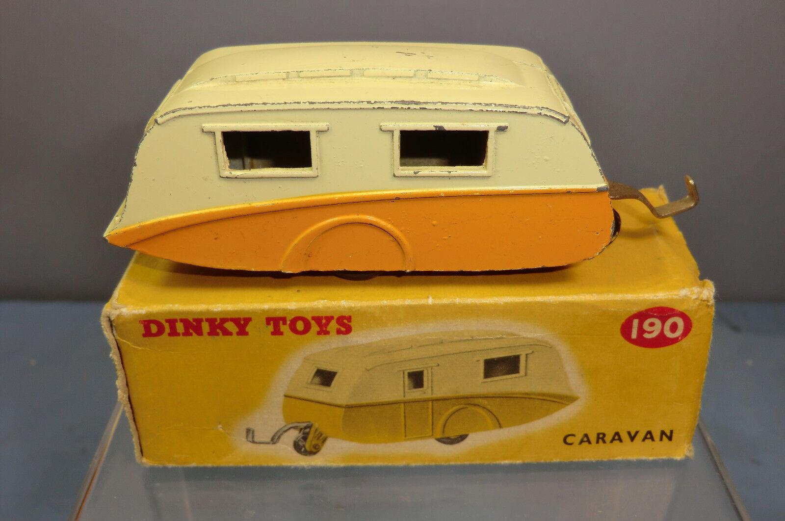 Schäbiges spielzeug modell no.190 stream-line caravan  Orange version  vn mib