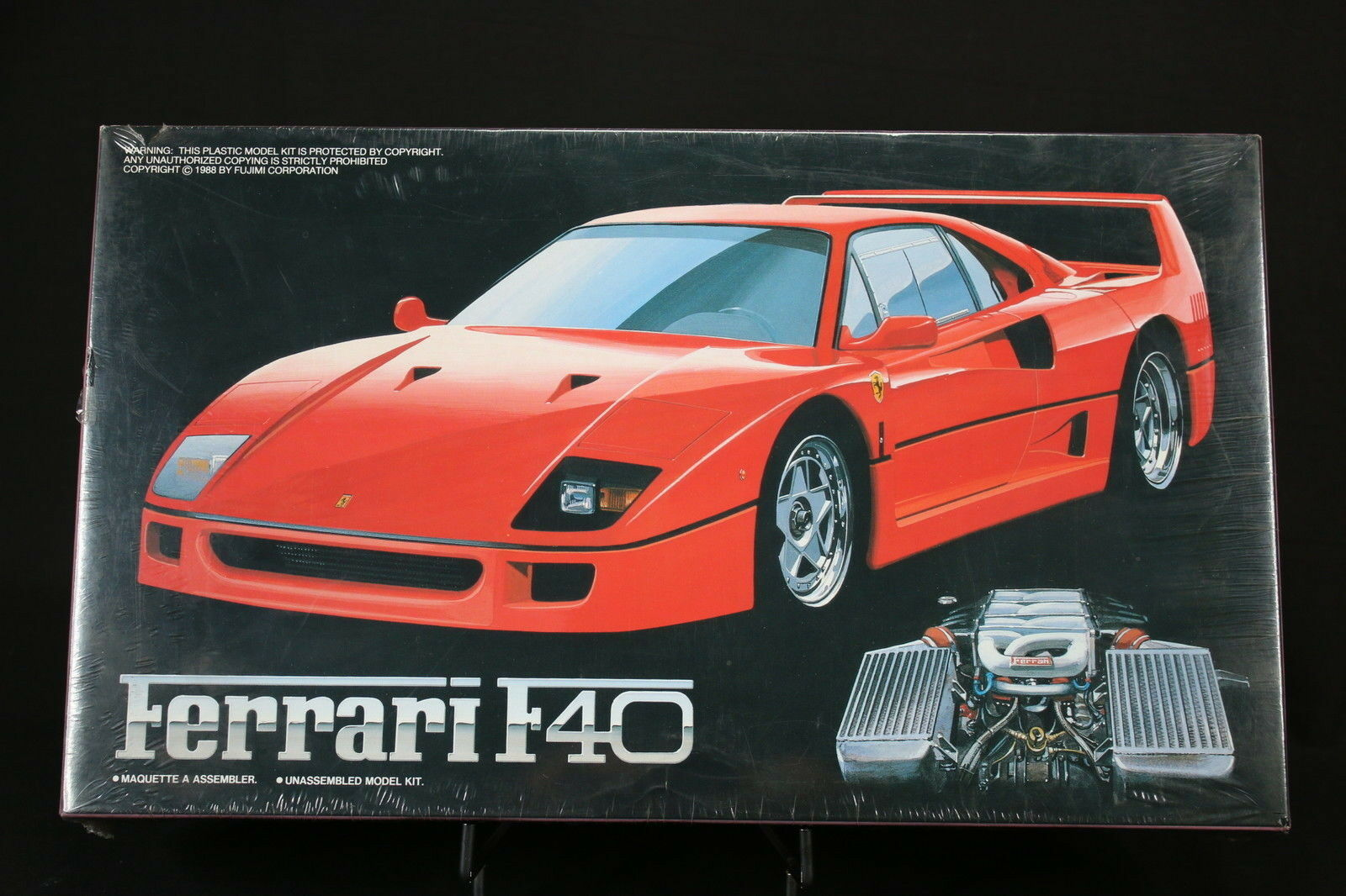 XA041 FUJIMI 1 24 maquette voiture 12001 1000 1 Ferrari F40 sports car 1988