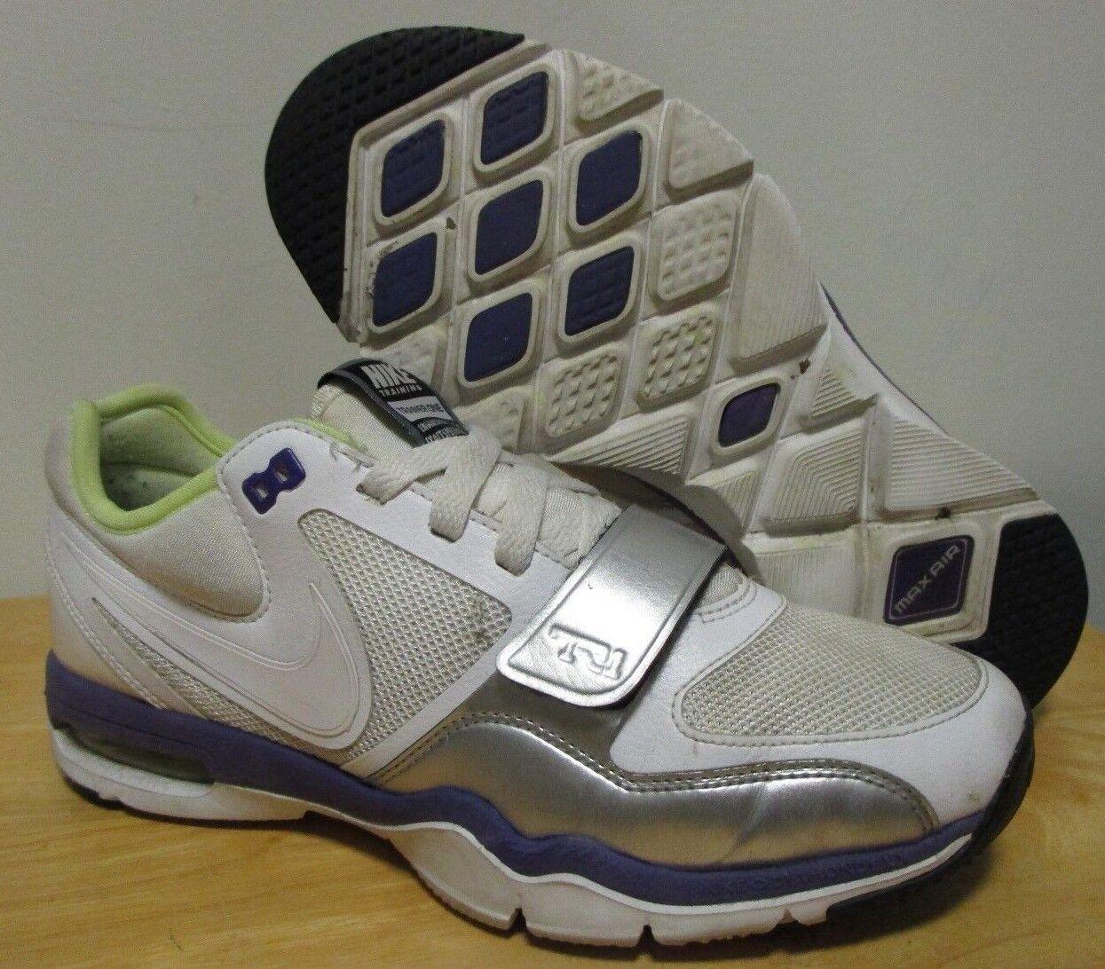 - nike air max allenatore 1 tr1 azioni di formazione scarpe sz 7,5 bianco viola verde | Lussureggiante In Design  | Uomo/Donne Scarpa