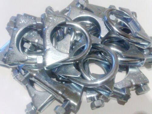 1 Sortiment 12 Stück M10 Auspuffschellen Bügelschelle M10 54-65 mm  S810546512