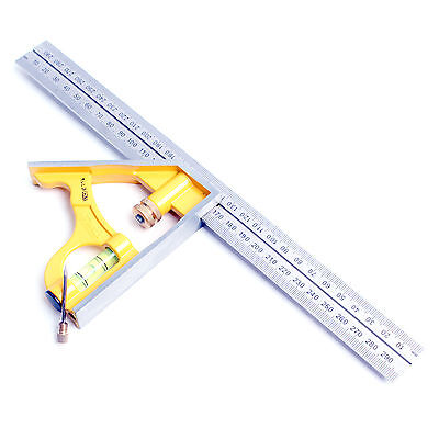 Stanley 46 143 Measuring Combination Square Angle Ruler Straight Ruler 300mm 3253562461438 Ebay