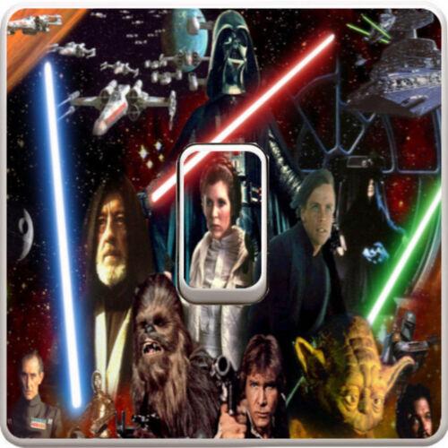 Star Wars Darth Vader Interrupteur De Lumière Vinyle Autocollant Décalque Pour Enfants Chambre à coucher #323