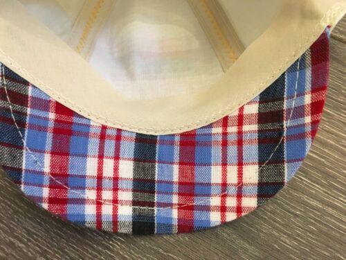 Baby Babies BOYS summer sun hat peaked cap caps STONE BOAT /& CHECK 1-2 yr12-24 m