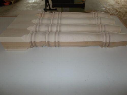 Maple wood farm table legs
