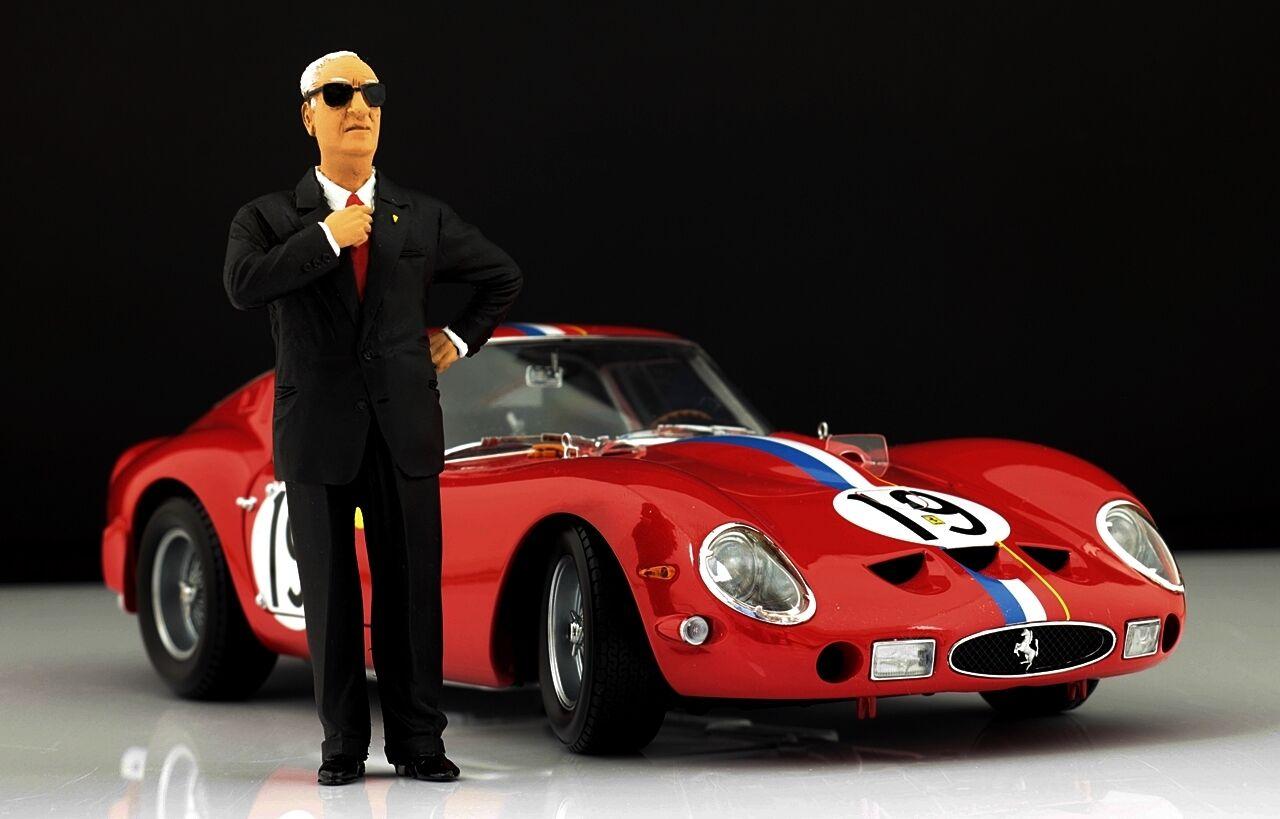 Enzo Ferrari Figure pour 1 18   CMC 250 125 F2 VERY RARE