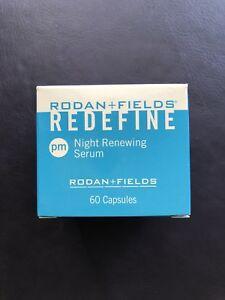 NEW-SEALED-Rodan-and-Fields-Redefine-Night-Renewing-Serum-60-Capsules