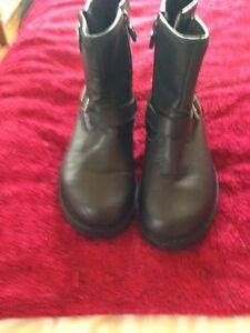 Botas-ugg-talla-3-Negro-Cuero