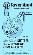 International 430 and 440 Square Baler Knotter for sale online   eBay