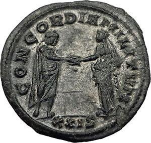 AURELIAN-274AD-Rome-Authentic-Genuine-Ancient-Roman-Coin-Marital-harmony-i59021