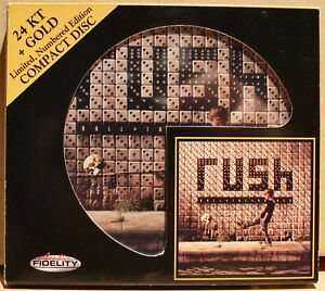 AUDIO FIDELITY GOLD CD AFZ-116: RUSH - Roll The Bones - 2011 USA OOP NM