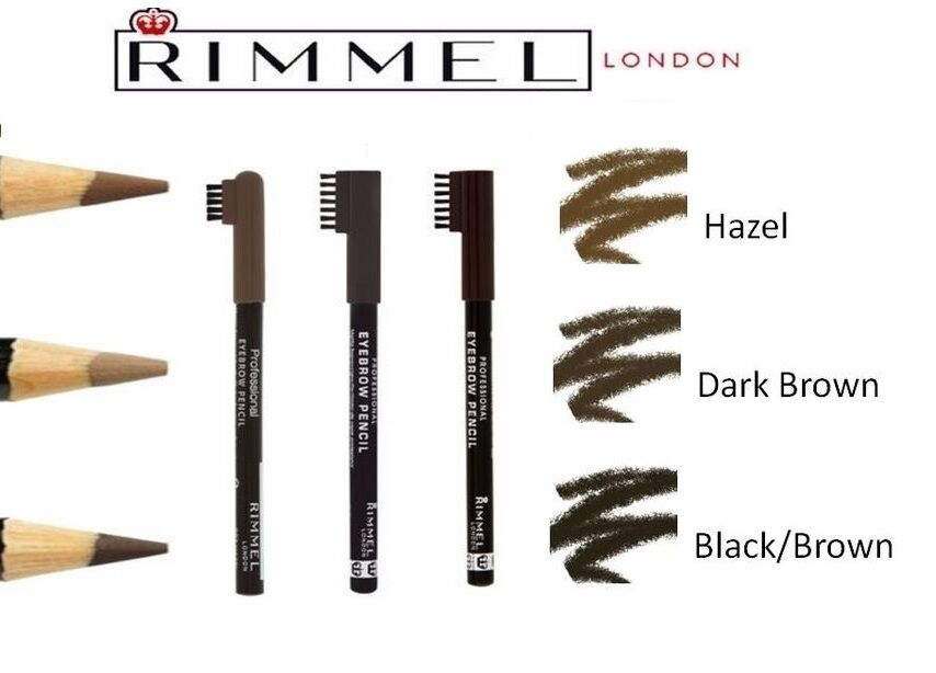 Rimmel London Professional Eyebrow Pencil Hazel 005 Oz Ebay