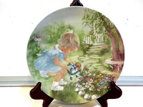 """STOP AND SMELL THE ROSES"" COLLECTOR PLATE"