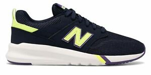 New Balance Women's 009 Shoes Navy with Green & Purple