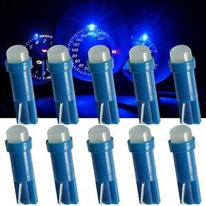 10pcs-T5-Blue-58-74-Dashboard-Gauge-COB-Flood-LED-Wedge-Dash-Panel-Bulb-Light