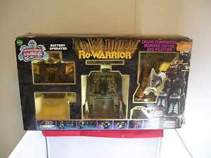 """""""Vintage"""" Echo Toys Ro-Warrior Grand Commander With Weapons & Instructions"""