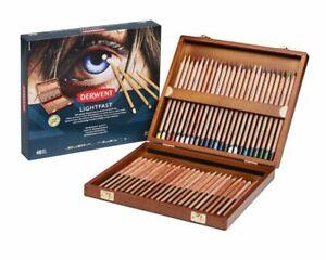 Derwent-Resistant-a-Lumiere-Professionnel-Qualite-Couleur-Crayons-48-En-Boite-De