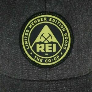 REI-co-op-Limited-Member-Edition-Goods-Cap-Hat-gray-wool-adjustable-outdoor-EUC