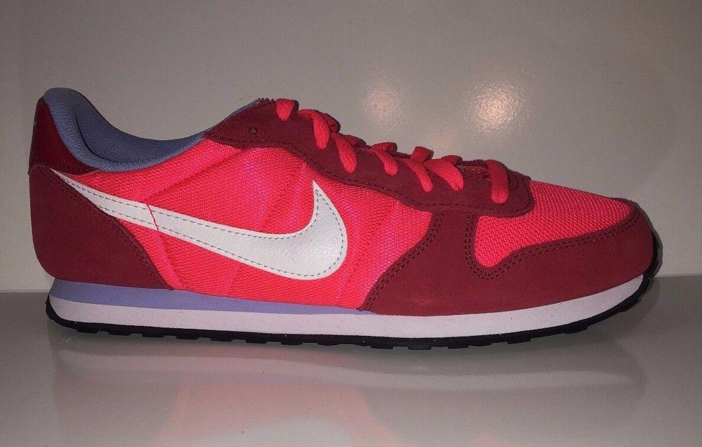 NEW Nike Women's Genicco 644451-616 Red Sneakers Shoes Sz 10.5