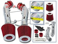 BCP RED Heat Shield Cold Air Intake Kit For 2008 2009 2010 2011 2012 2013 G37