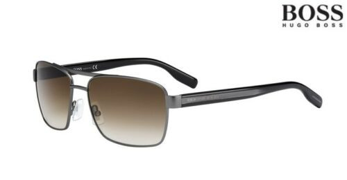 HUGO BOSS Sunglasses 0592//S Black RRP-£205 5MOCC Gunmetal