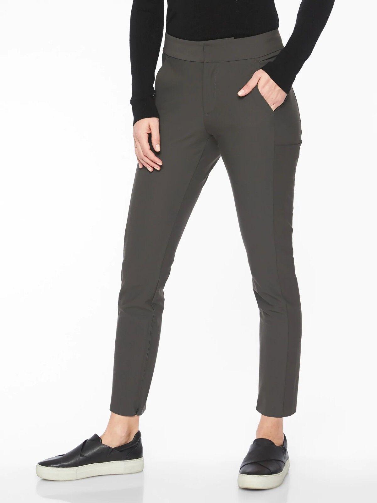 NWT Athleta Stellar Trouser, Arbor Olive SIZE 8P  8 P      E1211