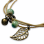 miniature 3 - Bracelet Flower Daisy Beads Girls Ceramic Charm Jewellery Silver Ankle Girls