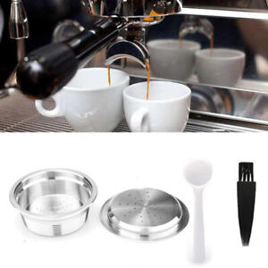 Refillable-Reusable-Coffee-Filter-Capsule-For-LAVAZZA-A-MODO-MIO-Tools-Durable