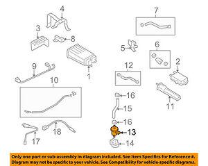 2009 hyundai evap diagrams hyundai oem 07 12 elantra vapor canister purge valve 2891026900 ebay  elantra vapor canister purge valve