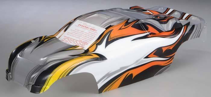 Traxxas Rustler XL-5   VXL Painted ProGraphix Body w  Decals (NIP) 3717