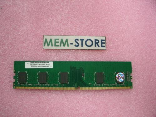 SNP7XRW4C//16G 16GB DDR4 2133MHz PC4-17000 UDIMM ECC Memory Dell R230 R330 T130