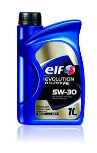Details about Total Elf Car Engine Motor Oil Evolution Fulltech FE  Performance 5W30 1L Renault