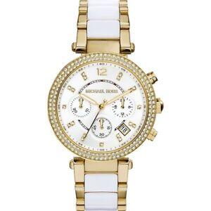 Cuarzo Mujer De Michael Para Kors Parker Detalles Título Ver Original Reloj Mk5774 Yfygb76v
