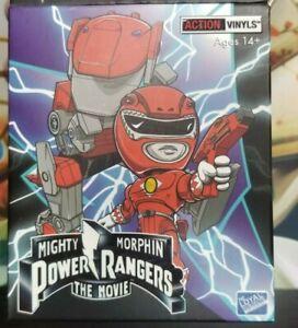 Tous les 5 vinyls d'action de film d'action Mighty Morphin Power Rangers Lot Red