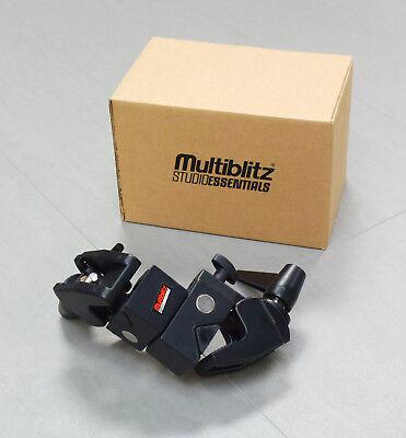 Doppel-Superklemme Suoer Clamp Multiblitz Studioessentials MSE016 neu BRUTTO