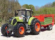 "RC Traktor CLAAS Axion 850 + Anhänger in XL Länge 78cm ""Ferngesteuert""  262460-1"