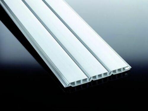 und Federprofile PVC 3000mm Länge in verschiedenen Ausführungen und Farben Nut