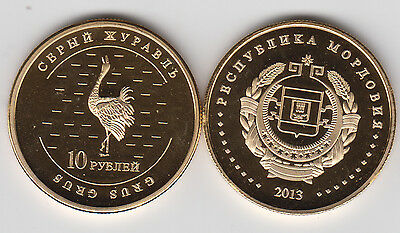 MORDOVIA 5 Kopeek 2013 Bird unusual coinage