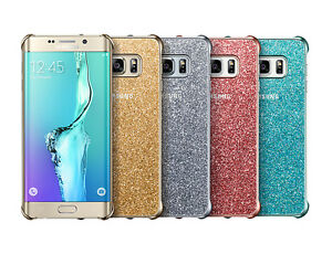 100-Genuine-Samsung-Galaxy-S6-Edge-Plus-Sparkle-Glitter-Case-Cover-EF-XG928