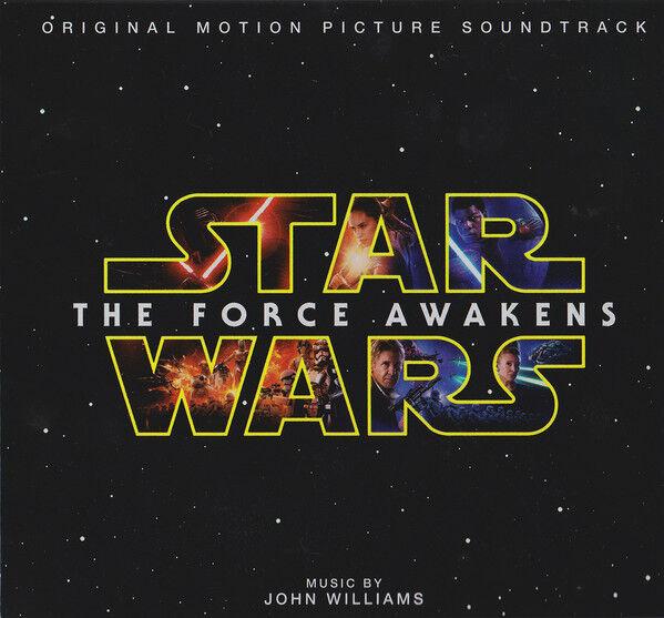 Star Wars The Force Awakens Ost Edición de Lujo + Exclusivo Colección Tarjetas