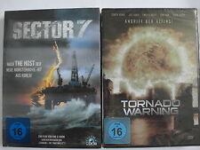 Alien Katastrophen Sammlung Sector 7 & Tornado Warning - Bohrinsel, Sturm, Öl