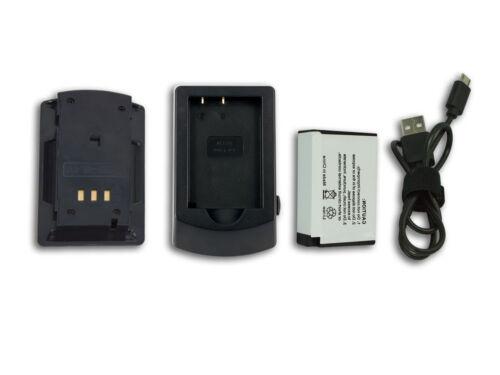 eos 750d EOS Rebel t6i CARGADOR para Canon EOS 200d Power Smart batería
