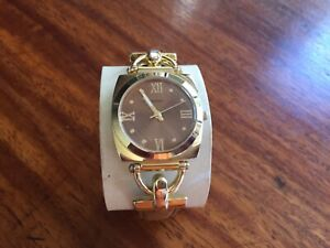 ISAAC-MIZRAHI-LIVE-Gold-Ladies-Watch