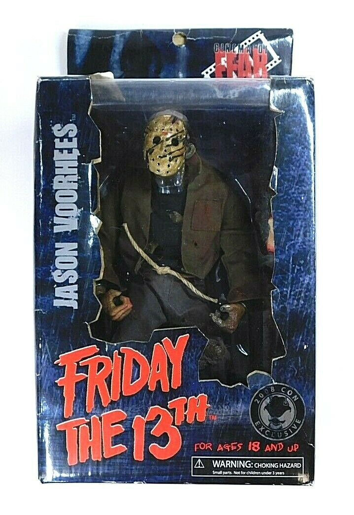 Cinema of fear friday the 13th Jason Figure 2008 NYCC Exclusive en Rough Box