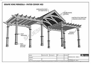 Image Is Loading GRAPE VINE OUTDOOR PERGOLA PATIO COVER VERANDA V3