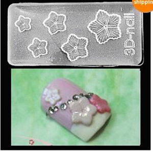 3d acrylic nail mold star shape nail art decoration nail for 3d acrylic nail art mold diy decoration