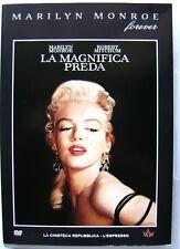 Dvd La Magnifica preda con Marilyn Monroe 1954 Usato editoriale