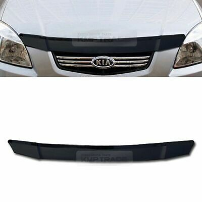 San Front Hood Guard Bug Shield Molding Cover Garnish for KIA 2006-2014 Sedona