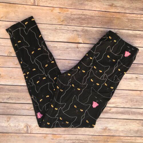 Black Cats Halloween Women/'s Leggings PS Plus Size 12-20 Super Soft