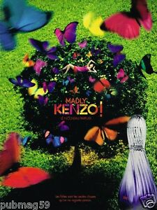 Sur 2011 Publicité Détails Parfum Madly Advertising Kenzo USMzVGqp