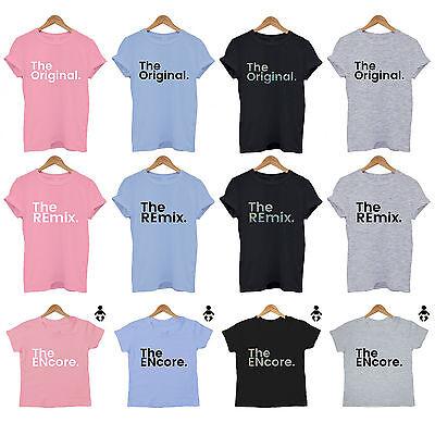 Ragionevole L'originale/i Remix/l' Encore Mamma Papa 'baby Fratelli Set Abbinato T Shirt-mostra Il Titolo Originale 2019 Nuovo Stile Di Moda Online